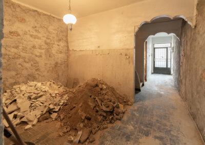 esvibar arquitectos estado previo casa muro