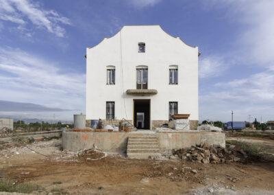esvibar arquitectos alqueria restauración proyectos fachada