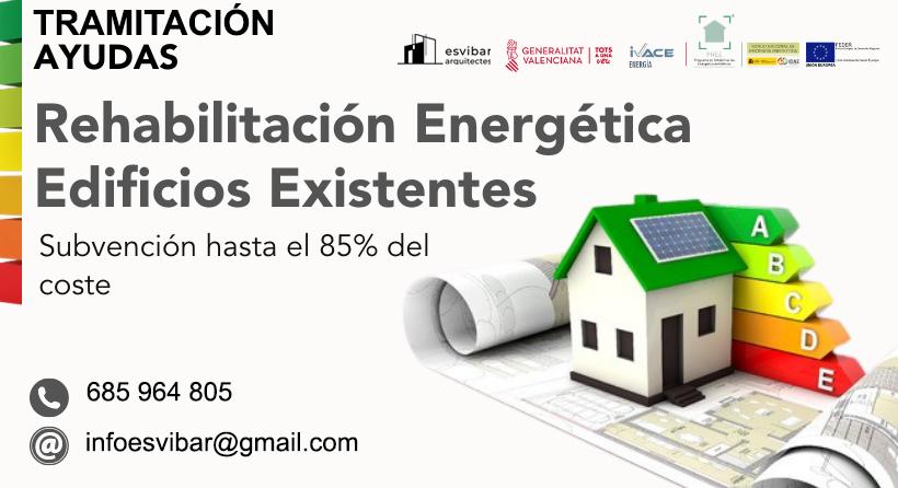 Ayudas de Rehabilitación Energética. PREE